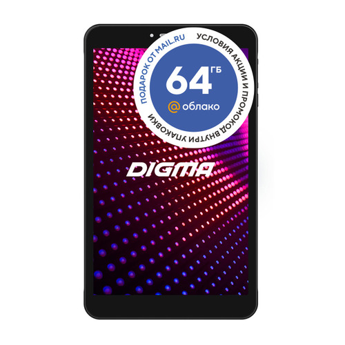 цена на Планшет DIGMA CITI 8589 3G, 2GB, 16GB, 3G, Android 9.0 черный [ps8206mg]