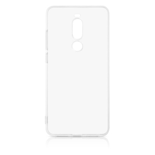 Чехол (клип-кейс) DF mzCase-30, для Meizu Note 8/M8, прозрачный  - купить со скидкой