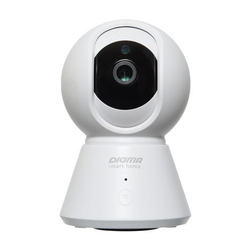 Фото - Видеокамера IP Digma DiVision 401 2.8-2.8мм цветная корп.:белый/черный видеокамера ip digma division 401 2 8мм черный