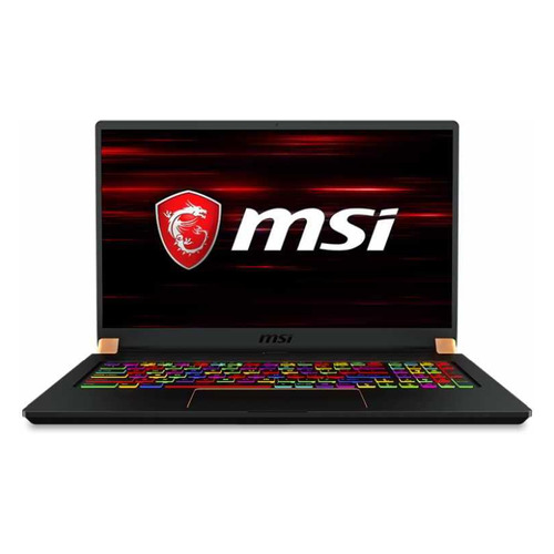 Ноутбук MSI GS75 Stealth 8SF-038RU, 17.3, IPS, Intel Core i7 8750H 2.2ГГц, 16Гб, 512Гб SSD, nVidia GeForce RTX 2070 - 8192 Мб, Windows 10, 9S7-17G111-038, черныйНоутбуки<br>экран: 17.3quot;;  разрешение экрана: 1920х1080; тип матрицы: IPS; процессор: Intel Core i7 8750H; частота: 2.2 ГГц (4.1 ГГц, в режиме Turbo); память: 16384 Мб, DDR4; SSD: 512 Гб; nVidia GeForce RTX 2070 - 8192 Мб; WiFi;  Bluetooth; HDMI; WEB-камера; Windows 10