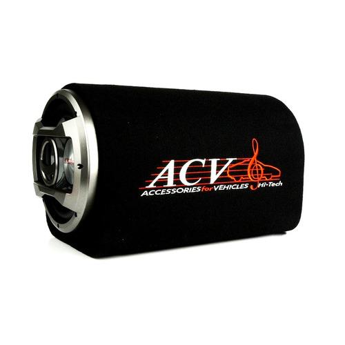 Сабвуфер автомобильный ACV BTA-12, активный, 500Вт [32642] сабвуфер автомобильный kicx gt500bpa 500вт активный 30см 12