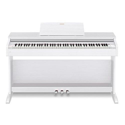 Цифровое фортепиано CASIO CELVIANO, AP-270WE, 88, полновзвешенная, полноразмерные, 192 белый цена и фото