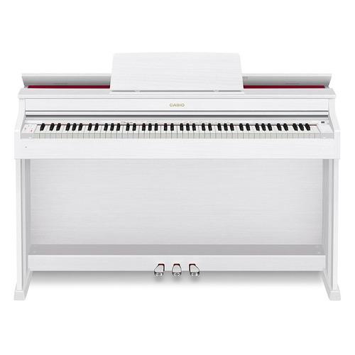 Цифровое фортепиано CASIO CELVIANO, AP-470WE, 88, полновзвешенная, полноразмерные, 256 белый