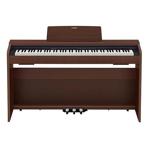 Фото - Цифровое фортепиано CASIO PRIVIA, PX-870BN цифровое фортепиано casio privia px 870bn 88клав коричневый