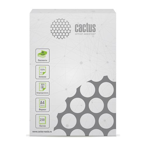 Бумага Cactus CS-OPB-A480250 A4/80г/м2/250л./белый CIE153% общего назначения(офисная)