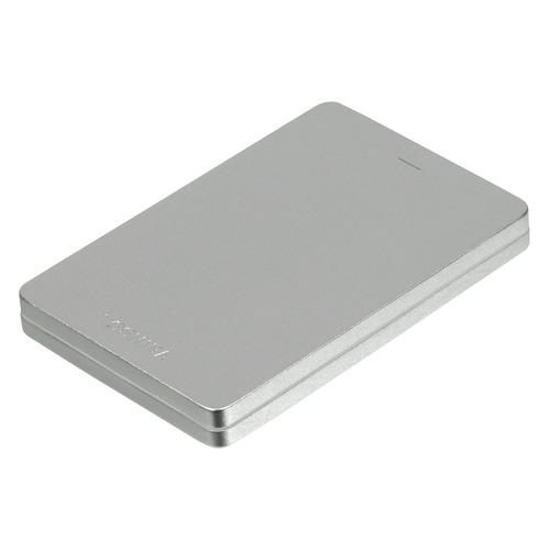 Фото - Внешний жесткий диск TOSHIBA Canvio Alu HDTH310ES3AB, 1Тб, серебристый внешний аккумулятор pb 6001 голубой 6000 мач