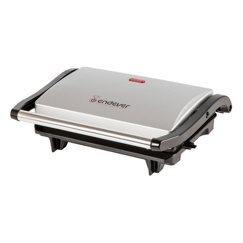 Электрогриль ENDEVER Grillmaster 115, серебристый и черный [80088] цена и фото