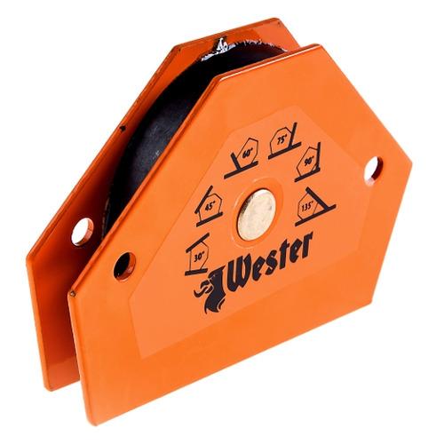 Магнитный угольник Wester WMCT25 (344440) угольник магнитный для сварки универсальный 615 34 кг