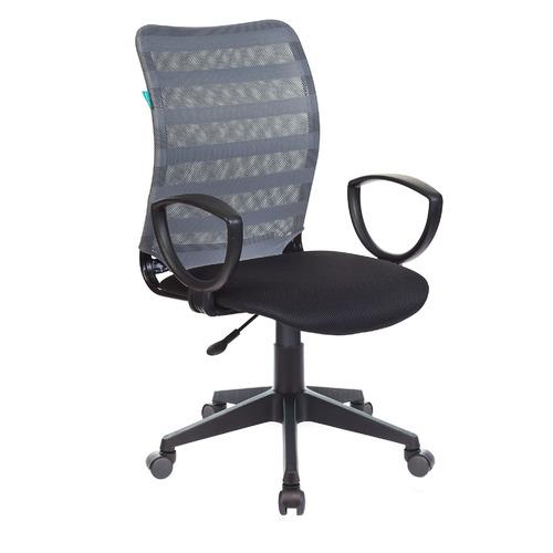 Кресло БЮРОКРАТ CH-599AXSN, на колесиках, ткань, черный [ch-599axsn/32g/tw-11]