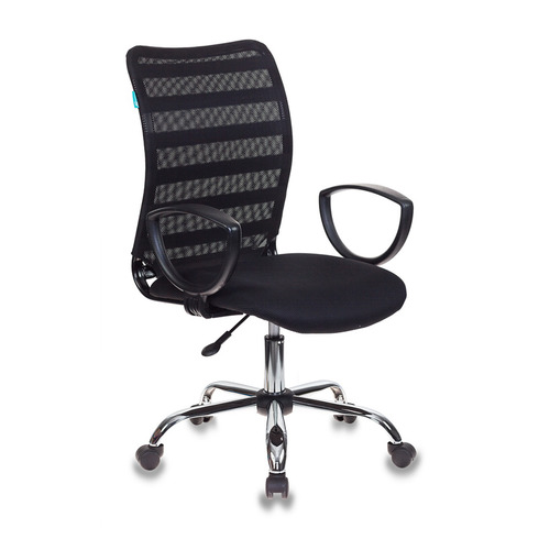 цена Кресло БЮРОКРАТ CH-599AXSL, на колесиках, ткань, черный [ch-599axsl/32b/tw-11] онлайн в 2017 году