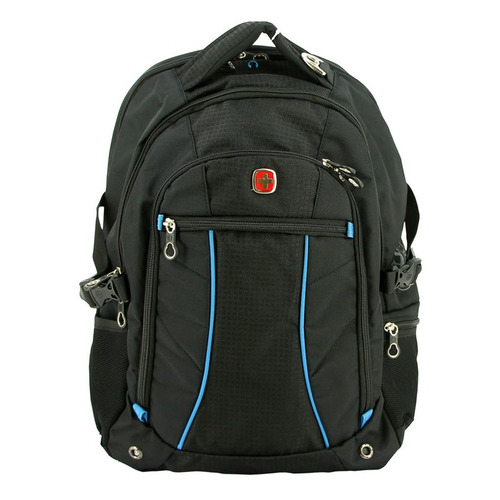 Рюкзак Wenger 3118203408 черный/синий 36x47x19см 32л. 1.02кг. цена и фото