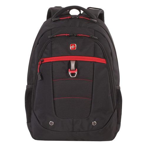 Рюкзак Wenger 5918201419 черный/красный 34x47x18см 29л. 0.78кг. цена и фото