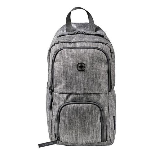 Фото - Рюкзак Wenger 605029 19x33x12см 8л. 0.3кг. полиэстер темно-серый рюкзак городской wenger urban contemporary с одним плечевым ремнем темно серый 19х12х33 см 8 л шт