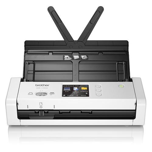 цена на Сканер BROTHER ADS-1700W серый/черный [ads1700wtc1]
