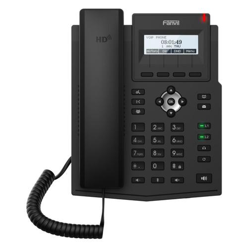IP телефон FANVIL X1SP voip телефон fanvil x1p черный