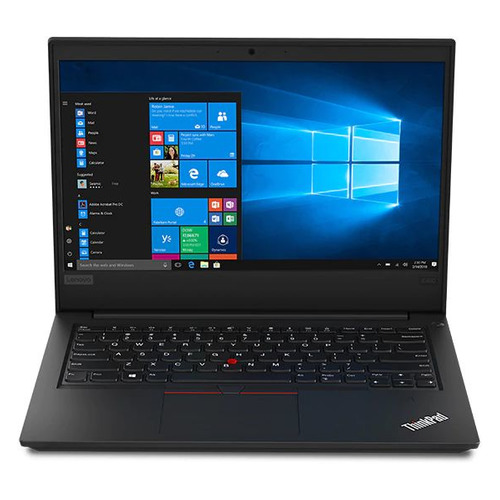 Ноутбук LENOVO ThinkPad E490, 14, IPS, Intel Core i3 8145U 2.1ГГц, 4Гб, 1000Гб, Intel UHD Graphics 620, Windows 10 Professional, 20N8005ERT, черный