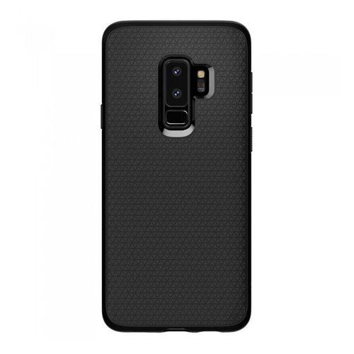 Чехол (клип-кейс) SPIGEN Spigen Liquid Air, для Samsung Galaxy S9+, черный (матовый) [593cs22920] чехол sgp для samsung s6 air skin liquid кристально прозрачный