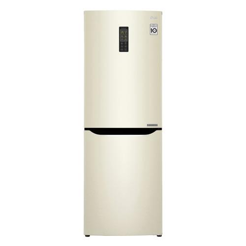 лучшая цена Холодильник LG GA-B379SYUL, двухкамерный, бежевый