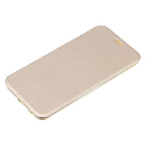 Чехол (флип-кейс) GRESSO Atlant, для Samsung Galaxy J4 (2018), золотистый [gr15atl103] цена и фото