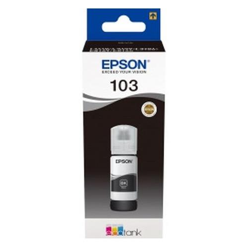 Картридж EPSON 103BK, черный [c13t00s14a] 103BK по цене 390
