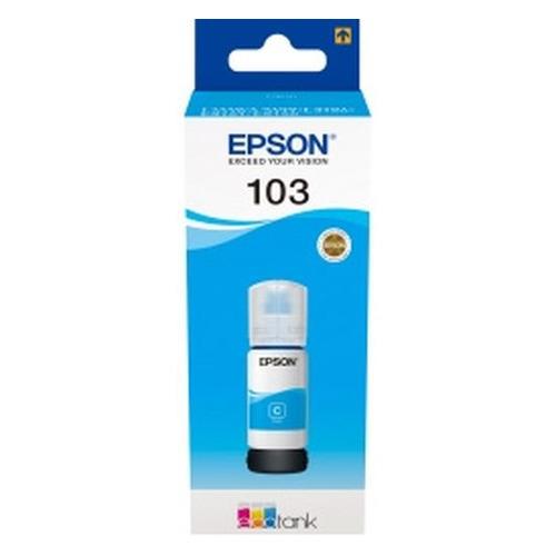 Картридж EPSON 103C, голубой [c13t00s24a] картридж epson 103c голубой [c13t00s24a]
