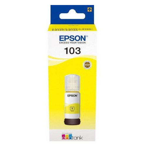 Картридж EPSON 103Y, желтый [c13t00s44a] 103Y по цене 580