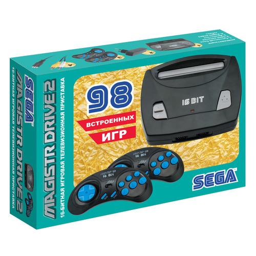 цена на Игровая консоль MAGISTR Drive 2 Little 98 игр, черный