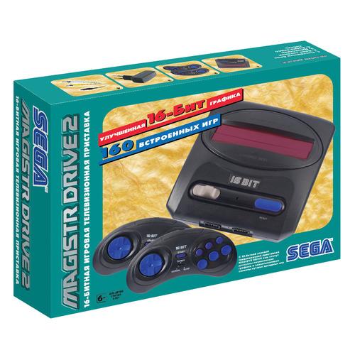 лучшая цена Игровая консоль MAGISTR Drive 2 Little 160 игр, черный