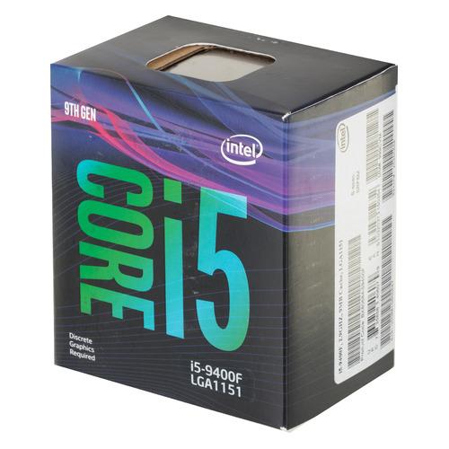 Процессор INTEL Core i5 9400F, LGA 1151v2, BOX [bx80684i59400f s rf6m] 9400F по цене 11 390