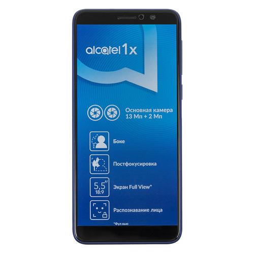 Смартфон ALCATEL 1X 16Gb, 5008Y, синий