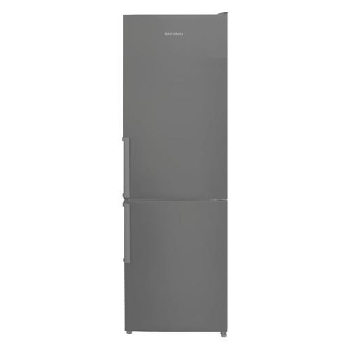 Холодильник SHIVAKI BMR-1852NFX, двухкамерный, нержавеющая сталь цена и фото