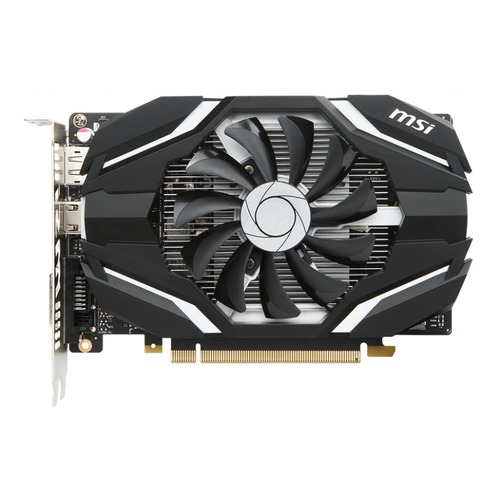 Видеокарта MSI nVidia GeForce GTX 1050TI, GTX 1050 Ti 4G OCV1, 4Гб, GDDR5, OC, Ret  - купить со скидкой