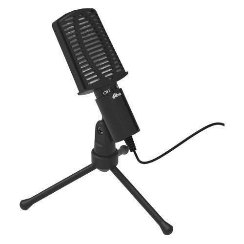 Микрофон RITMIX RDM-125, черный [15120025] микрофон ritmix rdm 127 хром черный [15120026]