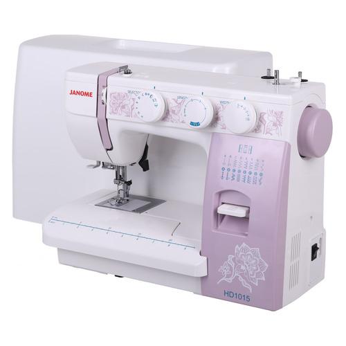 Швейная машина JANOME HomeDecor 1015 белый цена и фото