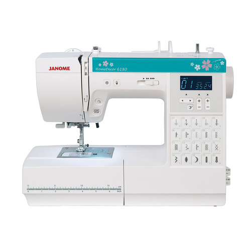 Швейная машина JANOME HomeDecor 6180 белый цена и фото