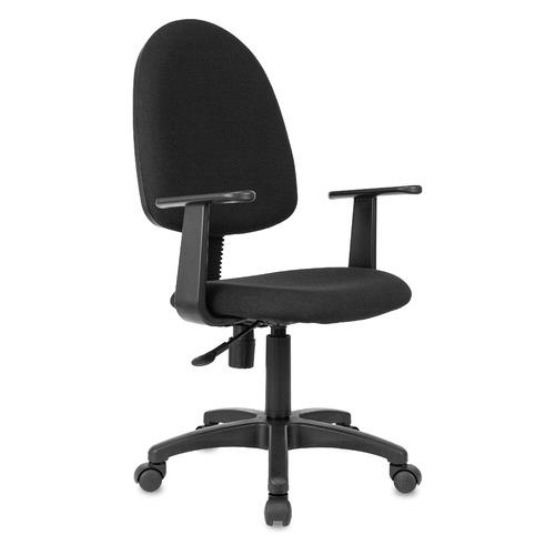 Кресло БЮРОКРАТ CH-1300, на колесиках, ткань, черный [ch-1300/t-15-21] ch 1300 black mebelvia