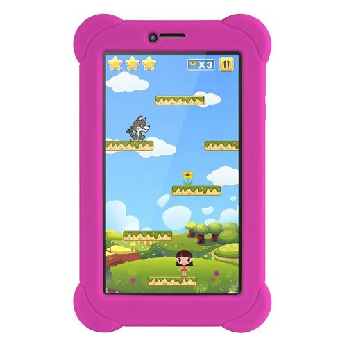 Планшет DIGMA Plane 7565N 3G + чехол, 1GB, 16GB, 3G, Android 7.0 розовый
