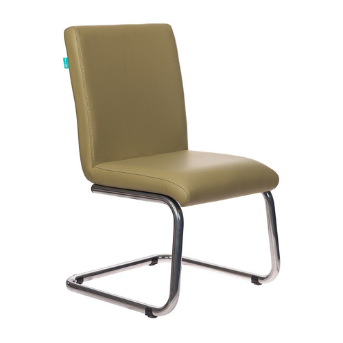 Кресло БЮРОКРАТ CH-250-V, на полозьях, искусственная кожа [ch-250-v/krit-green] linvel v 649 ch