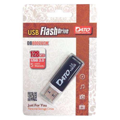 Фото - Флешка USB DATO DB8002U3 128ГБ, USB3.0, черный [db8002u3k-128g] обучающий набор 6в1 чтение счет пони 03631