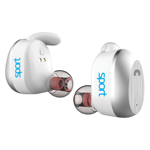 Фото - Гарнитура ELARI NanoPods Sport, Bluetooth, вкладыши, белый [nps-2swht] elari nanopods sport белый