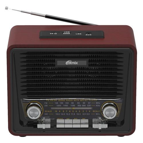 Радиоприемник RITMIX RPR-088, черный цена и фото