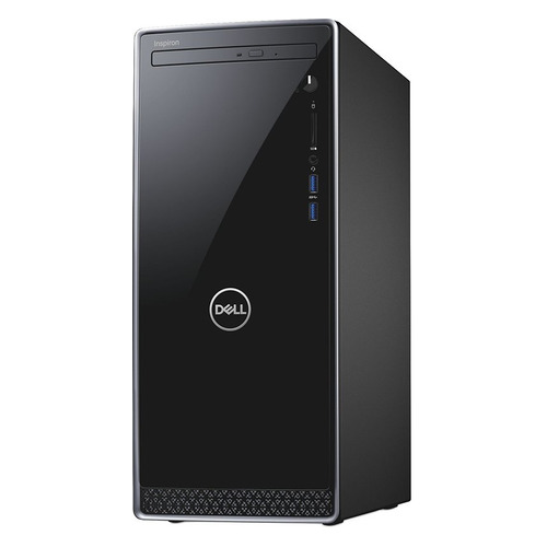 Компьютер DELL Inspiron 3670, Intel Core i5 8400, DDR4 8Гб, 1Тб, NVIDIA GeForce GTX 1050 - 2048 Мб, DVD-RW, Windows 10 Home, черный [3670-6185] моноблок msi pro 24 6nc 024ru intel core i5 6400 8гб 1000гб nvidia geforce gt930mx 2048 мб dvd rw windows 10 home черный [9s6 ae9311 024]