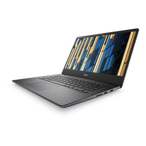 Ноутбук DELL Vostro 5481, 14, IPS, Intel Core i5 8265U 1.6ГГц, 4Гб, 1000Гб, nVidia GeForce Mx130 - 2048 Мб, Windows 10 Home, 5481-6055, серыйНоутбуки<br>экран: 14quot;;  разрешение экрана: 1920х1080; тип матрицы: IPS; процессор: Intel Core i5 8265U; частота: 1.6 ГГц (3.9 ГГц, в режиме Turbo); память: 4096 Мб, DDR4, 2666 МГц; HDD: 1000 Гб, 5400 об/мин; nVidia GeForce Mx130 - 2048 Мб; WiFi;  Bluetooth; HDMI; WEB-камера; Windows 10 Home