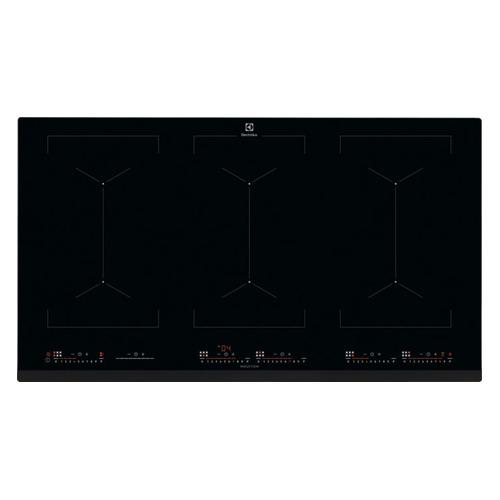 Индукционная варочная панель ELECTROLUX EIV9467, индукционная, независимая, черный цена и фото