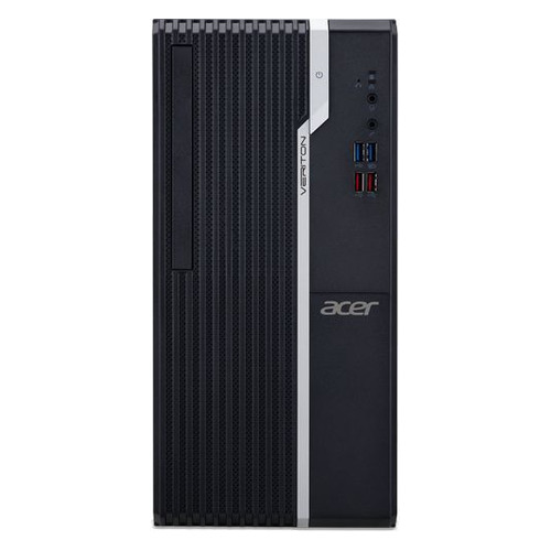 Компьютер ACER Veriton S2660G, Intel Core i5 8400, DDR4 8Гб, 256Гб(SSD), Intel UHD Graphics 630, Endless, черный [dt.vqxer.035]