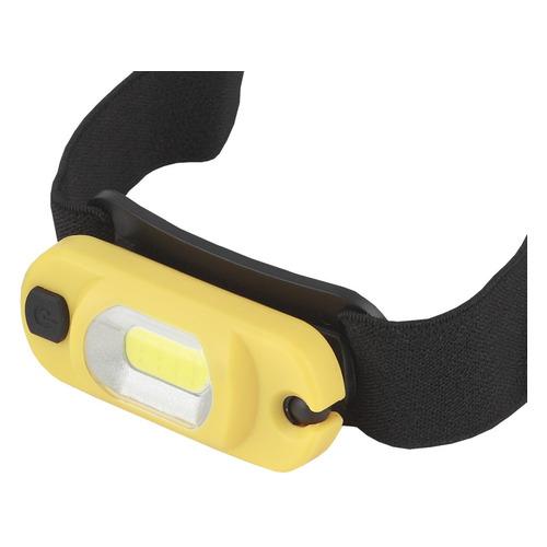 Аккумуляторный фонарь ЭРА GA-801, желтый / черный, 3Вт [б0030186] фонарь эра ga 801