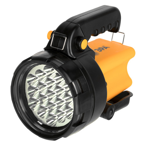 Аккумуляторный фонарь ЭРА PA-602, черный / желтый [б0031033]