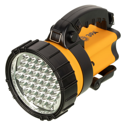Аккумуляторный фонарь ЭРА PA-603, желтый / черный, 3Вт [б0031034]