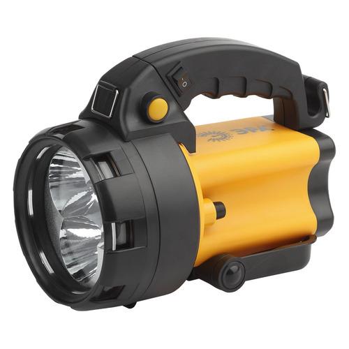 Аккумуляторный фонарь ЭРА PA-604, желтый / черный, 3Вт [б0031035]