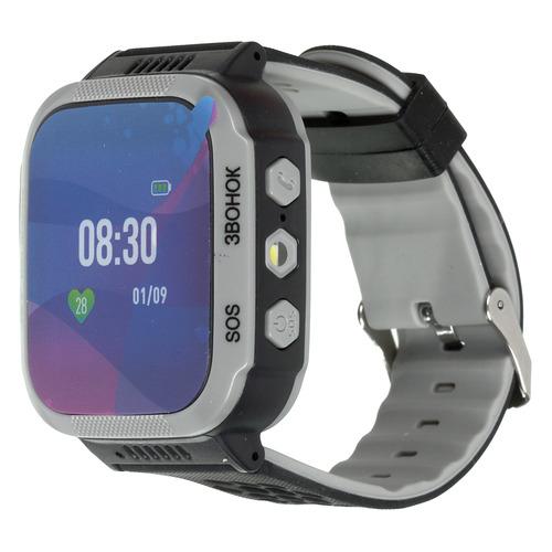 Смарт-часы JET Kid Smart, 45мм, 1.44, черный / черный [smart black] телефон билайн смарт